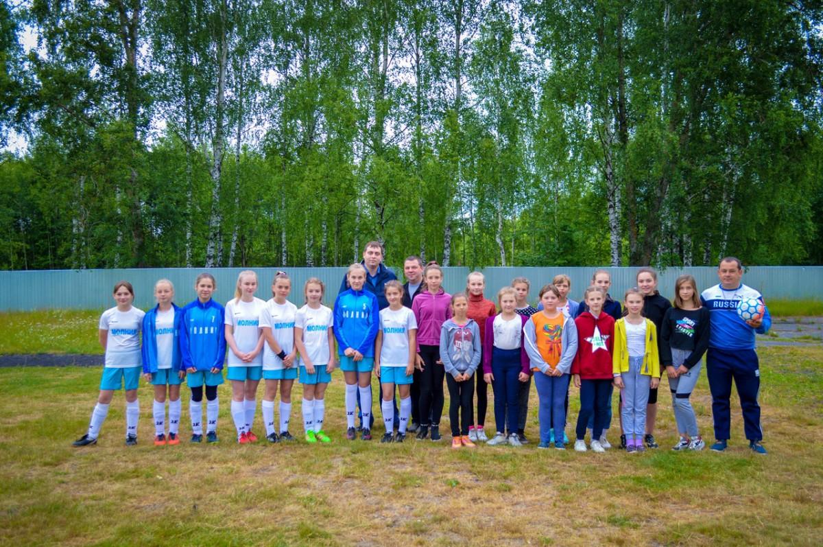 В городском округе город Кулебаки прошел муниципальный этап Российского фестиваля по футболу среди дворовых команд
