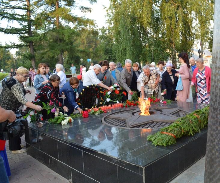 В нашем округе прошла акция «Свеча памяти»